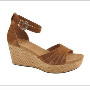 UGG Leanne suede wedge platform sandal